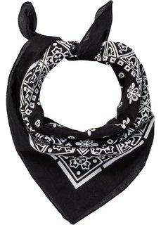 Многофункциональный шарф (черный/белый) Bonprix