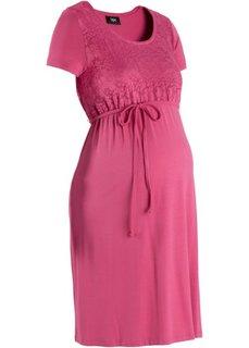 Платье для беременных (светлый ярко-розовый) Bonprix