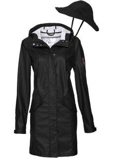 Функциональная куртка + шляпа (2 изд.) (черный) Bonprix