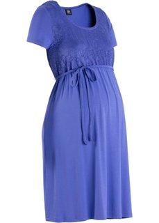 Платье для беременных (лилово-синий) Bonprix