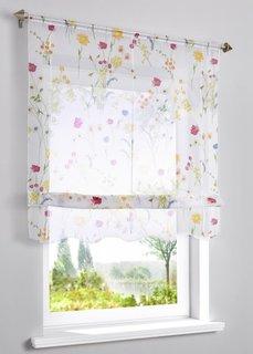 Римская штора Дорит (белый/различные расцветки) Bonprix