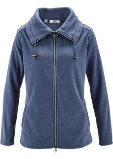 Флисовая куртка (индиго) Bonprix