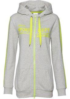 Трикотажная куртка (натуральный меланж) Bonprix