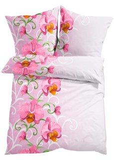 Постельное белье Орхидея, линон (розовый) Bonprix