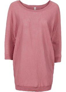 Пуловер в стиле оверсайз (розовый) Bonprix