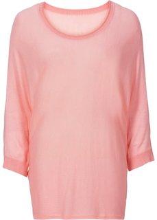Пуловер (розовый неон) Bonprix