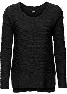 Летний пуловер (черный) Bonprix