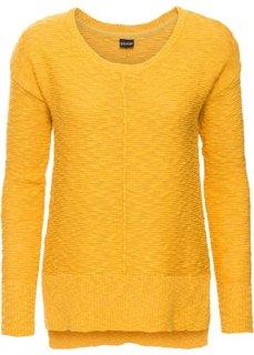 Летний пуловер (шафранно-желтый) Bonprix