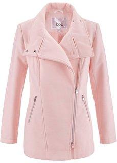 Пальто из структурного материала (жемчужно-розовый) Bonprix