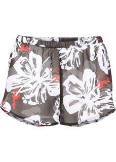 Пляжные шорты (черный/белый) Bonprix