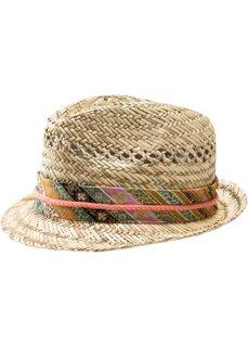 Соломенная шляпа для девочек (натуральный) Bonprix