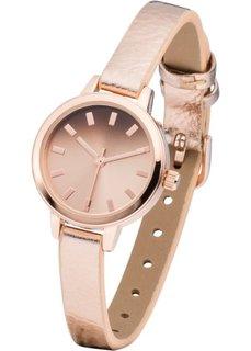 Часы (розово-золотистый металлик) Bonprix