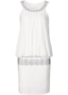 Коктейльное платье (цвет белой шерсти) Bonprix