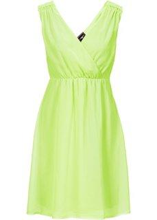 Шифоновое платье (зеленый) Bonprix