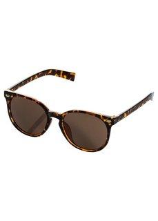 Солнцезащитные очки с черепаховым узором (коричневый) Bonprix