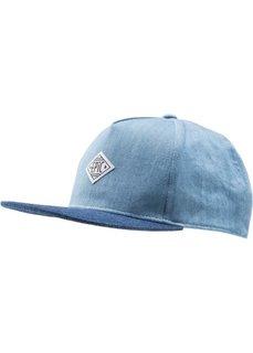 Джинсовая кепка для мальчиков (синий/синий деним) Bonprix