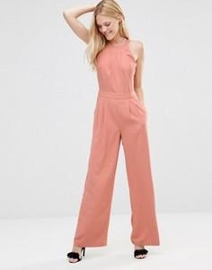 Комбинезон с широкими штанинами Greylin Dina - Розовый