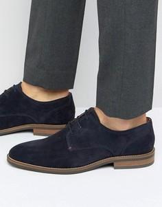 Замшевые туфли дерби Tommy Hilfiger Daytona - Темно-синий