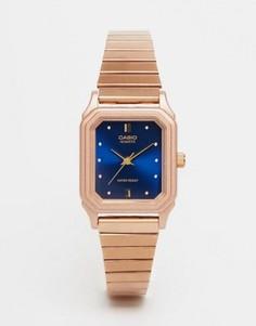 Часы в винтажном стиле Casio LQ 400R 2AEF - Золотой