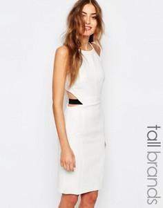 Платье с молнией сзади Vero Moda Tall - Белый