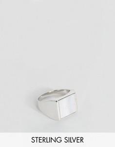 Серебряное кольцо с печаткой Seven London эксклюзивно для ASOS - Серебряный