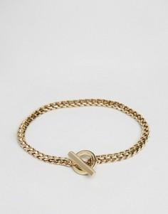 Золотистый браслет-цепочка Vitaly Cirkel - Золотой