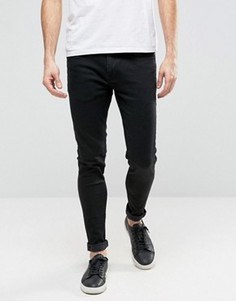 Черные зауженные джинсы Ringspun - Черный