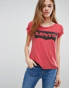 Футболка с логотипом Levis - Красный Levis®
