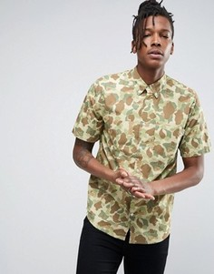 Камуфляжная рубашка с короткими рукавами Carhartt WIP - Мульти