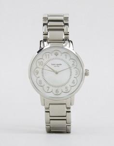 Серебристые часы Kate Spade Gramercy 1YRU0792 - Серебряный
