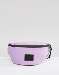 Фиолетовая сумка-кошелек на пояс с нашивкой ASOS - Фиолетовый