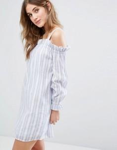 Платье в полоску Miss Selfridge - Мульти