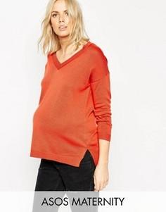 Джемпер для беременных ASOS Maternity - Красный