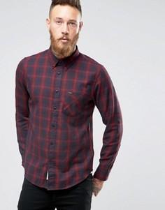 Рубашка в клетку Lee - Красный