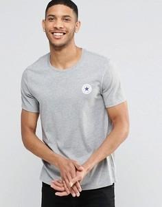 Серая футболка с логотипом Converse Chuck 10002850-A02 - Серый