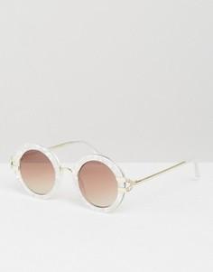 Круглые солнцезащитные очки Somedays Lovin - Белый