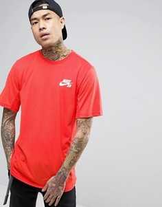 Оранжевая футболка Nike SB Skyline 848661-852 - Оранжевый