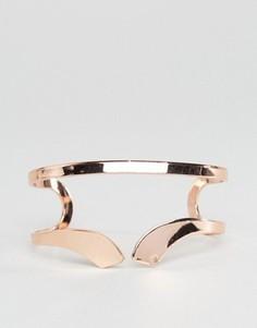 Двойной браслет-манжета Nylon - Золотой