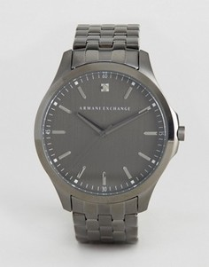 Наручные часы с серебристым браслетом Armani Exchange AX2169 - Серебряный