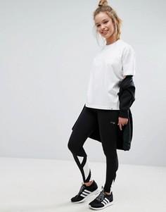Черные леггинсы с тремя полосками на манжетах adidas Originals Berlin - Черный