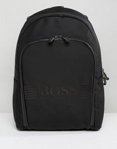 Черный рюкзак с пиксельной отделкой BOSS Green by Hugo Boss - Черный