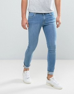 Голубые джинсы из органического хлопка Dr Denim Dixy - Синий