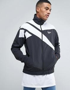 Черная спортивная куртка Reebok Vector BK5095 - Черный