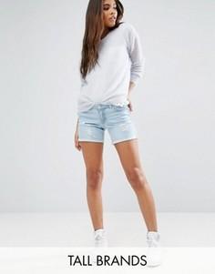 Длинные джинсовые шорты Vero Moda Tall - Синий