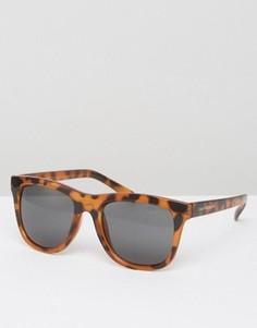 Солнцезащитные очки в черепаховой оправе Cheap Monday - Коричневый