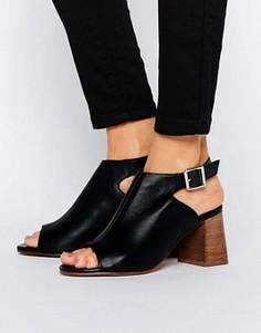 Кожаные туфли ASOS ROSY - Черный