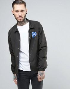 Черная спортивная куртка из нейлона с логотипом Penfield Howard - Черный