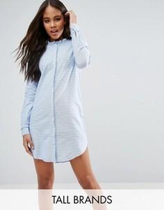 Платье-рубашка Vero Moda Tall - Синий