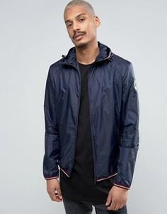 Легкая темно-синяя куртка из рипстопа с капюшоном Napapijri Augusta - Темно-синий