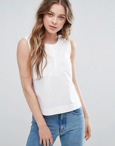 Рубашка без рукавов Selected Morgan - Белый